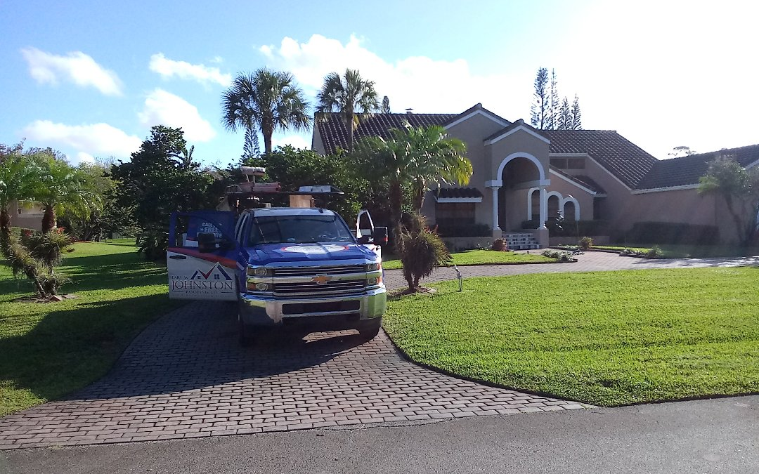 Parkland, FL - Tile roof repair in the city of parkland fl this repair is being done by earl w johnston roofing company jose end duane are you repair technician