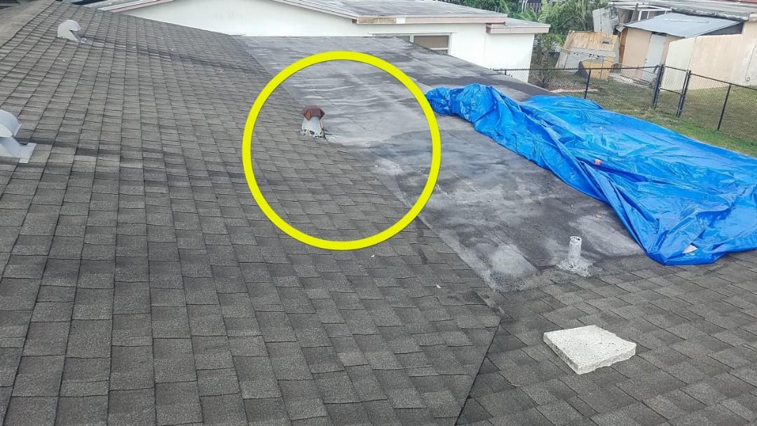 Sunrise, FL - Roof leak repair estimate in Sunrise, FL