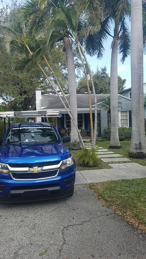 Fort Lauderdale, FL - GAF timberline HD shingles reroof estimate by Earl Johnston Roofing Company
