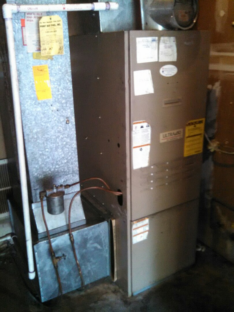Toms River, NJ - Oil fired furnace cleaning
