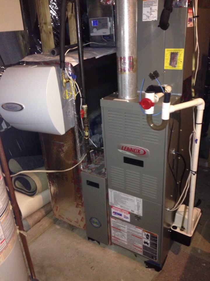 Harriman, NY - Lennox gas furnace maintenance