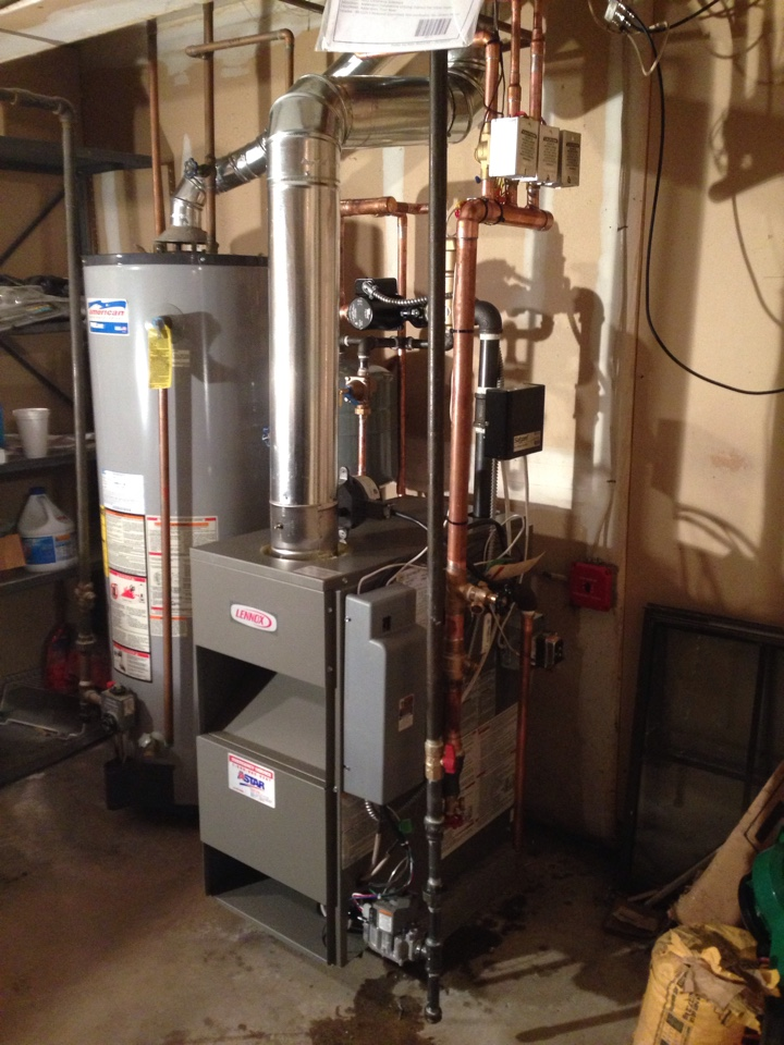 Maybrook, NY - Installation of New Lennox boiler