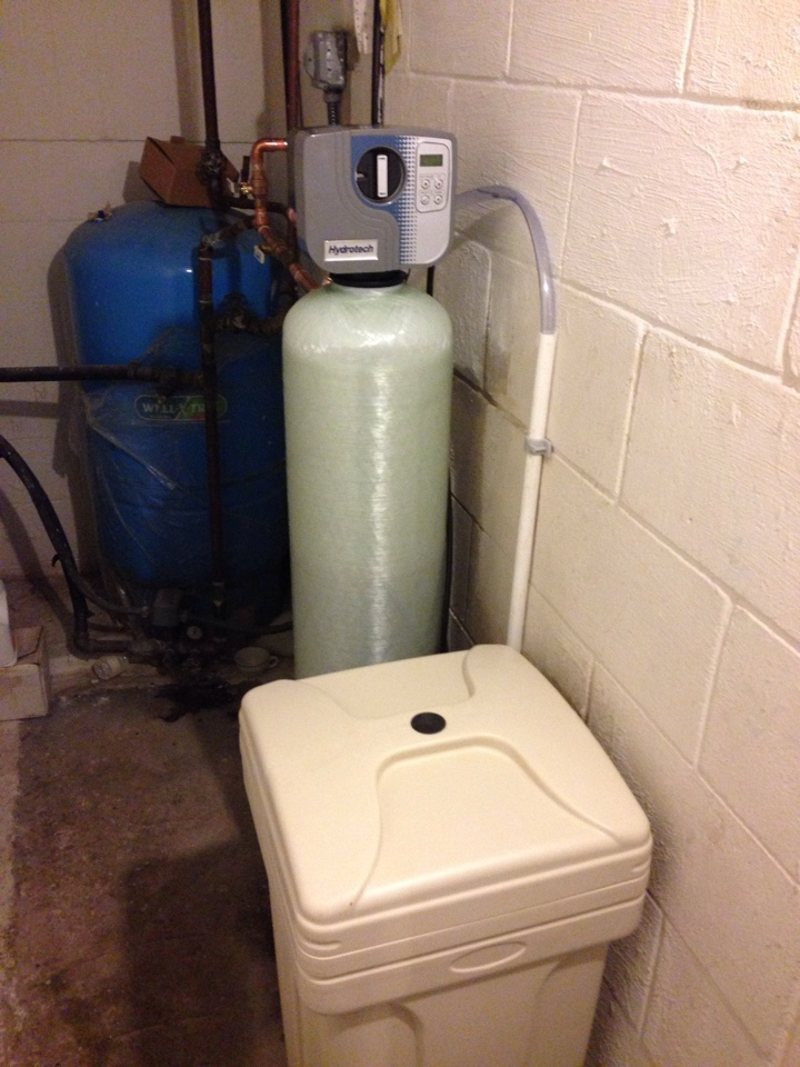 Westtown, NY - Retrofit of a softener system.