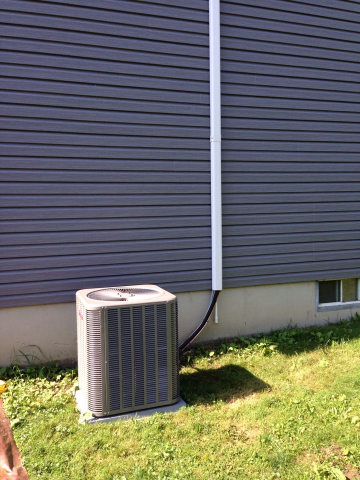 Pine Bush, NY - Central air conditioning installation