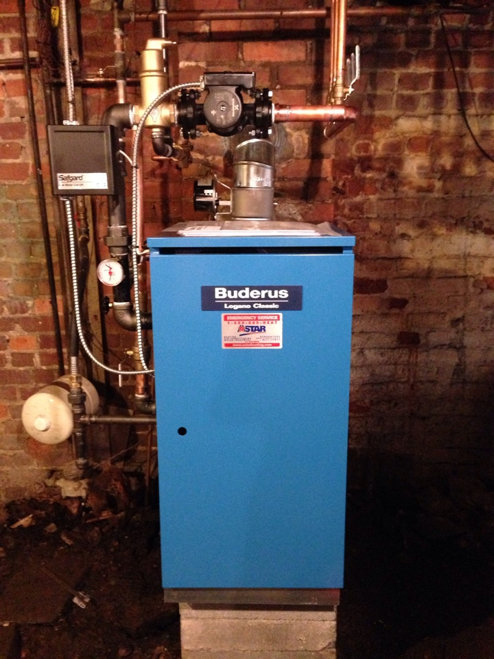 Port Jervis, NY - New Buderus gas boiler installation