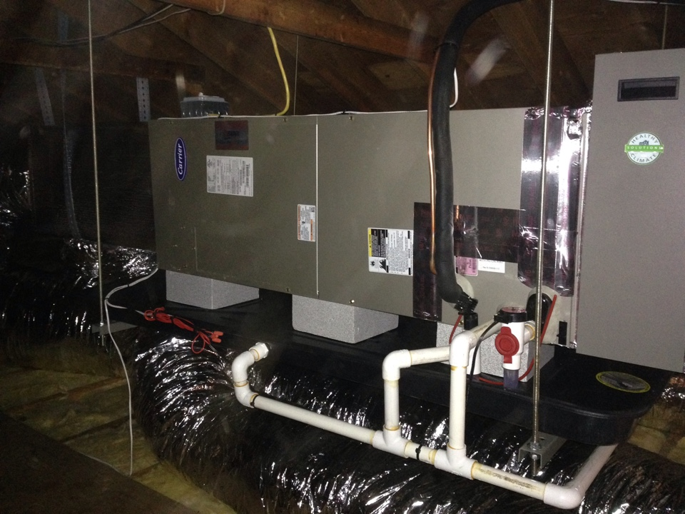 Port Jervis, NY - New split air conditioning system.