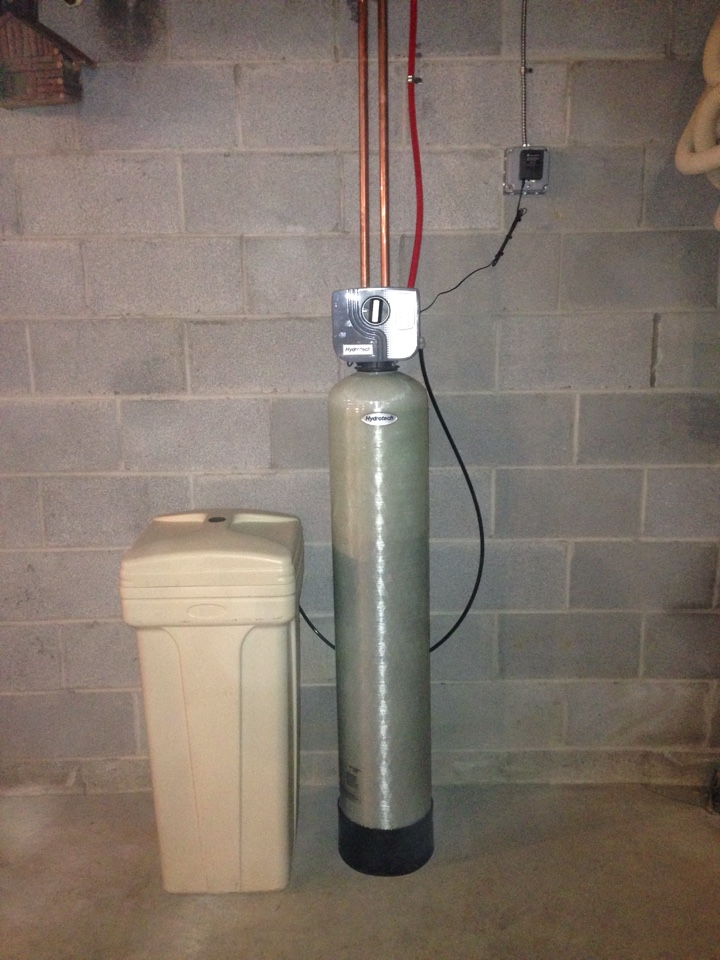Pine Bush, NY - Installation of new well tank and water softener.