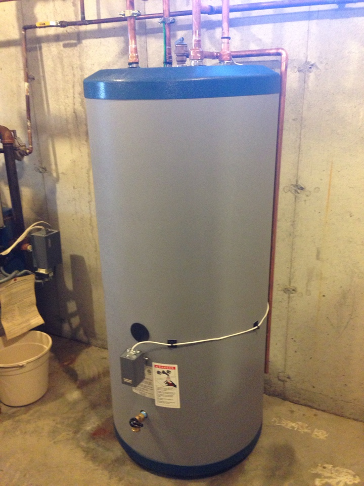 Monroe, NY - New indirect water heater installation.