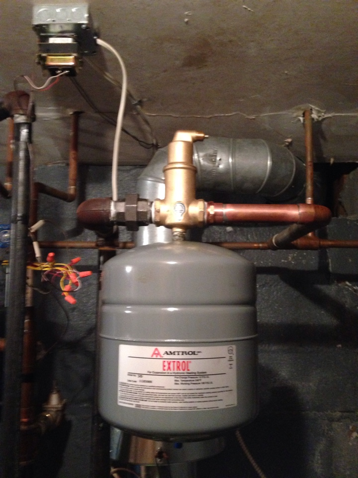 Harriman, NY - Installation of Spirovent hydronic air elimination system