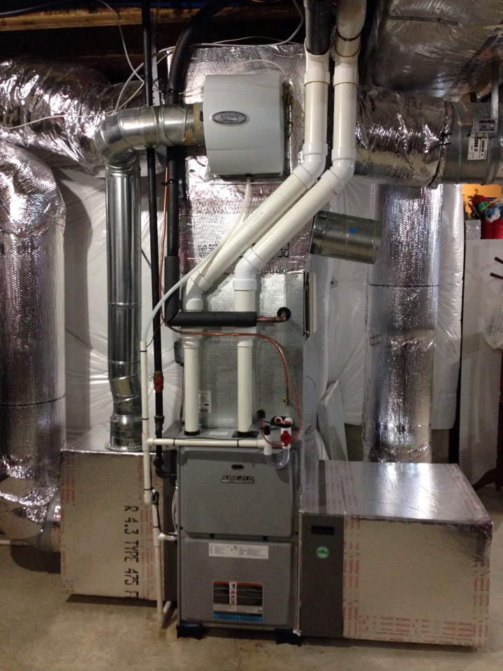 Rock Tavern, NY - Furnace and coil installation
