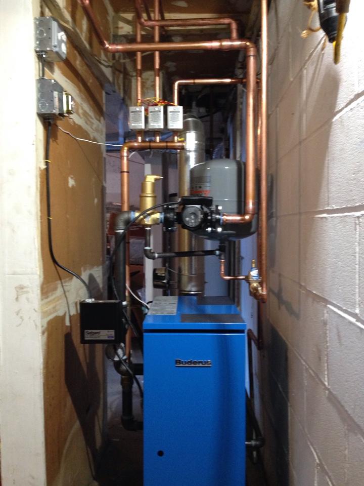 Scotchtown, NY - Boiler installation