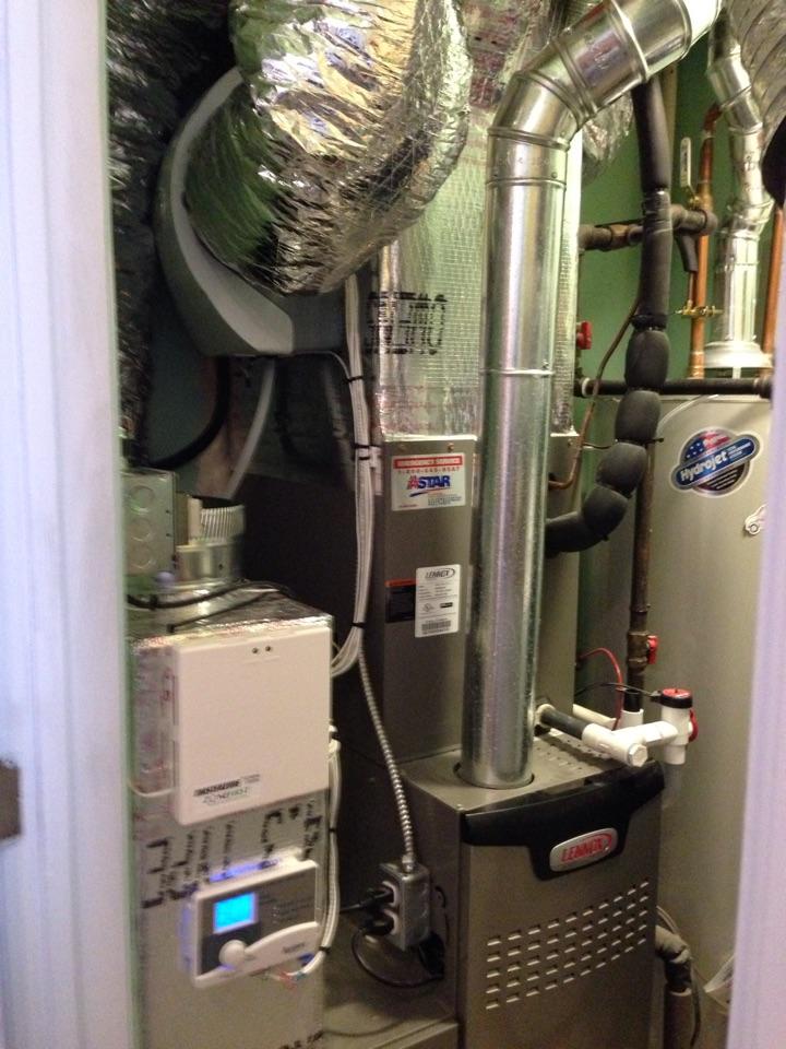 Montgomery, NY - Humidifier installation
