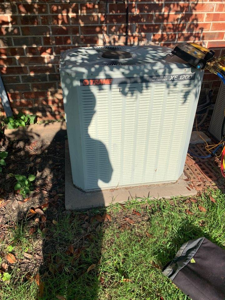McKinney, TX - Leaking evaporator coil in McKinney tx . Mr Preece