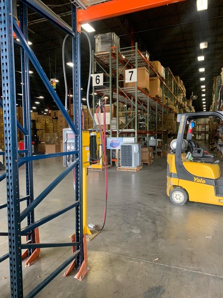 Carrollton, TX - Picking up equipment in Carrollton tx
