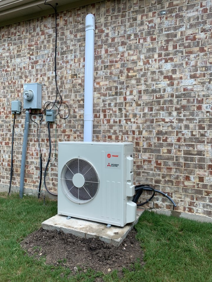 Fairview, TX - New trane ductless system in fairview tx