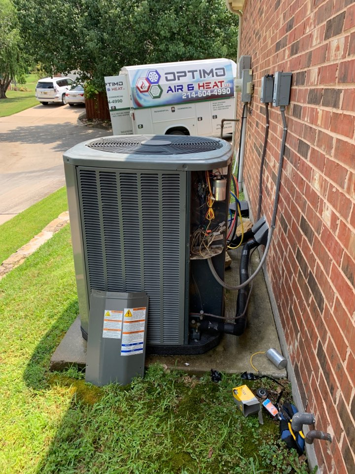 Carrollton, TX - New capacitor in Carrollton tx.