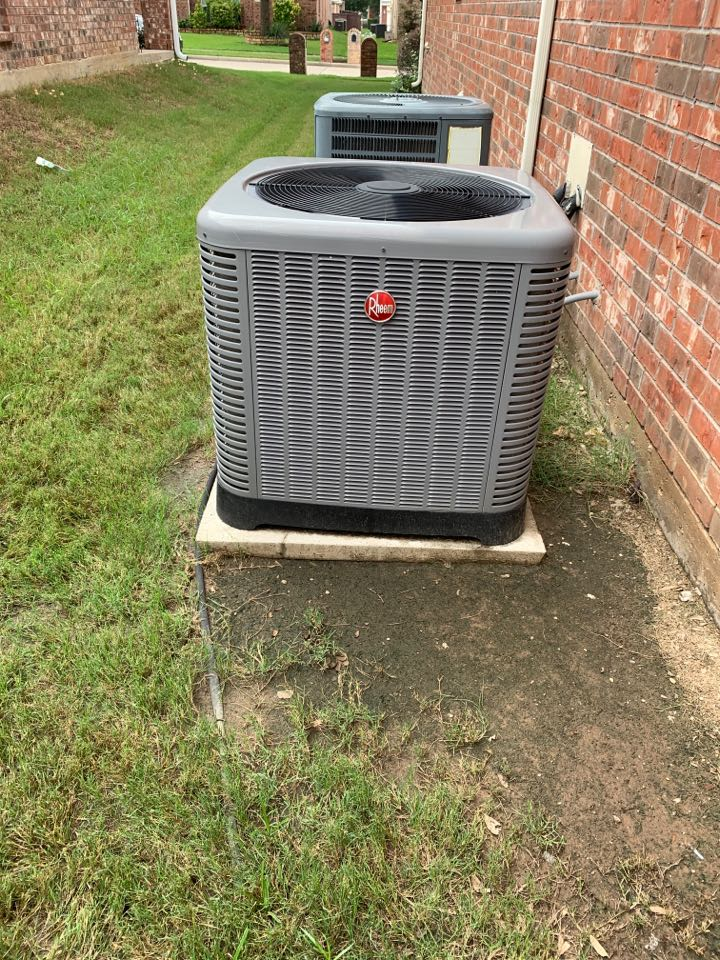 Frisco, TX - New capacitor on this rheem.