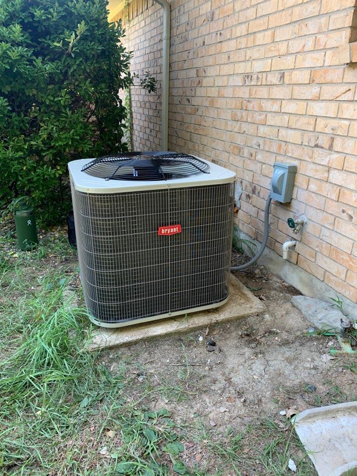 McKinney, TX - Heat pump system. 14 seer