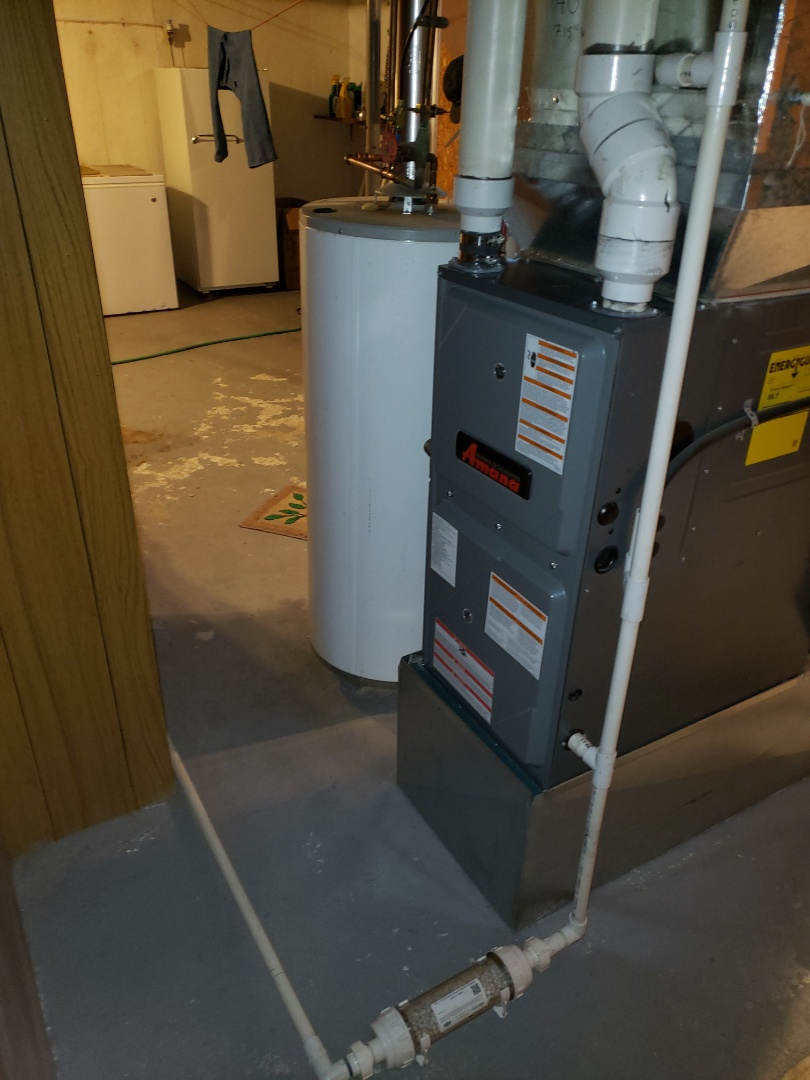 Luseland, SK - Just completed a system rejuvenation and Plumbing evaluation in Luseland.