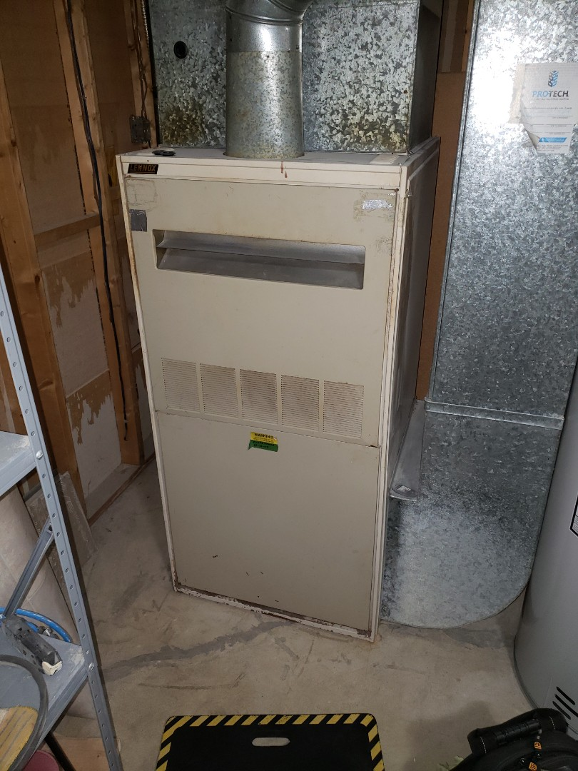 Lloydminster, AB - Just completed a system rejuvenation on this nice Lennox furnace