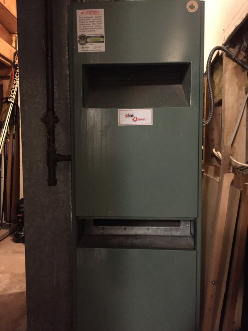 Marwayne, AB - Just completed a system rejuvenation on this Olsen furnace