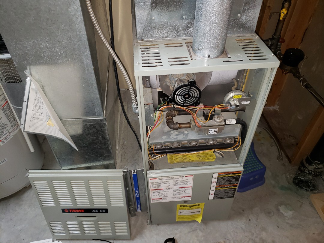Lloydminster, AB - Just replaced the blower motor on this beautiful furnace.