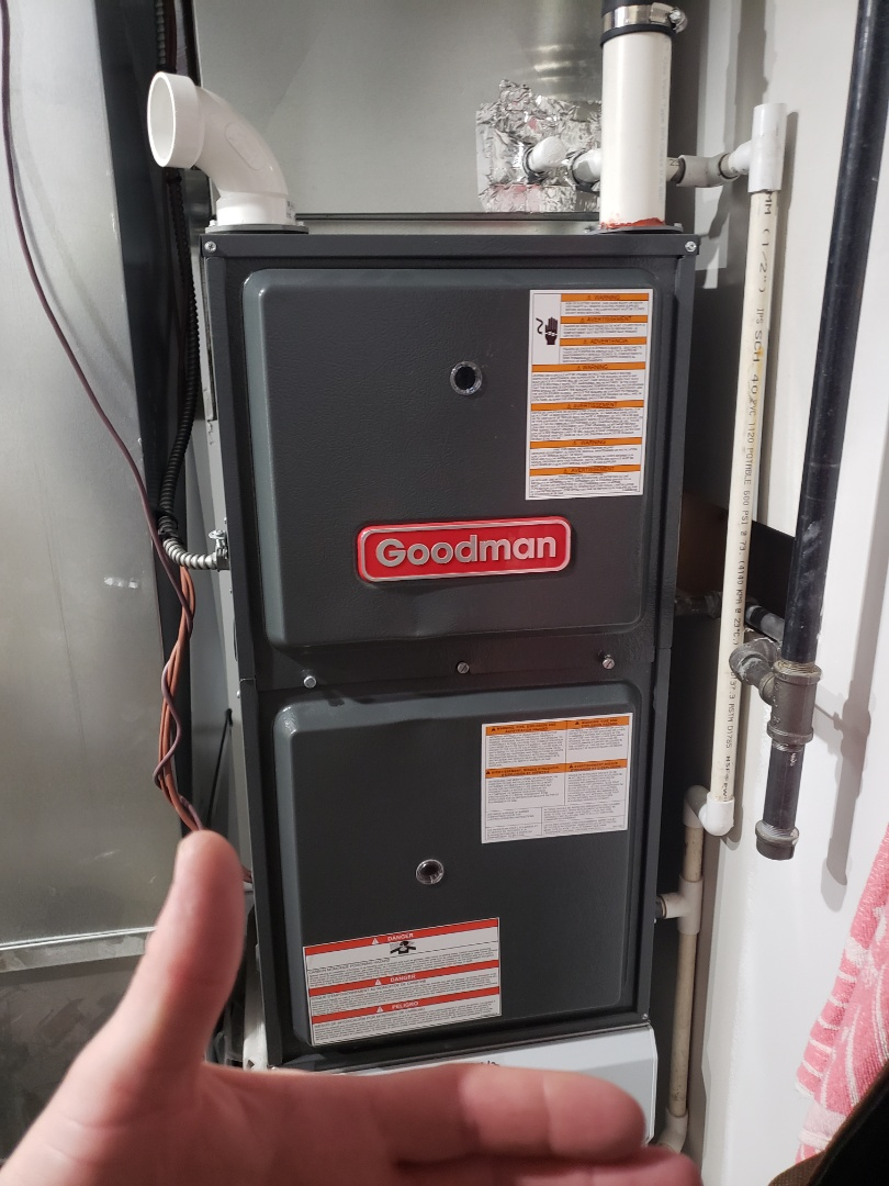 Lloydminster, AB - Just looked at a goodman furnace that was working intermittently.