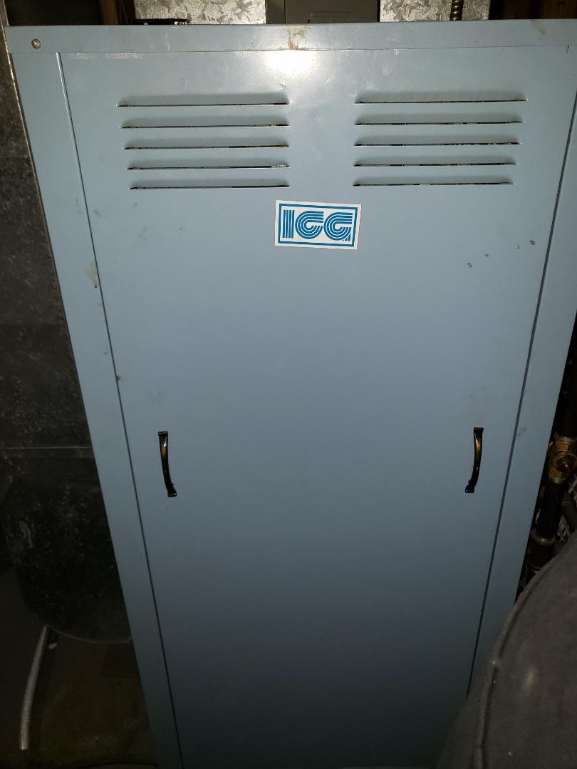 Lloydminster, SK - Got the heat back on again on this ICG Furnace.