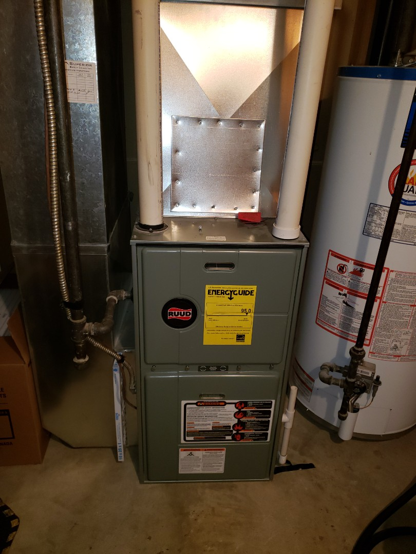 Lloydminster, AB - Just completed a system rejuvenation.  And replaced a blower motor and capacitor.