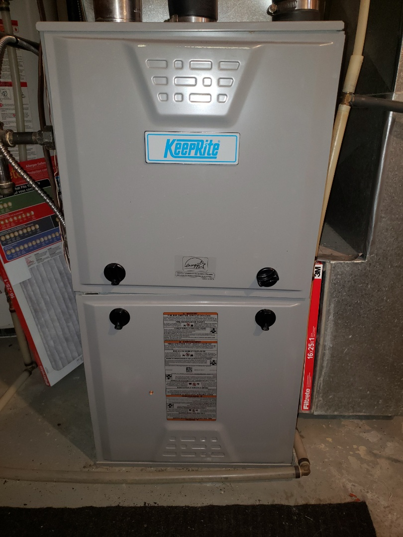 Lloydminster, AB - Just replaced the collector box ON this Keeprite furnace.