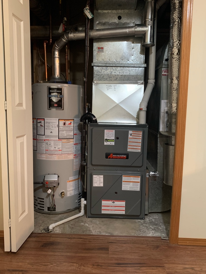 Kitscoty, AB - Guradian install a brand new furnace for a wonderful family