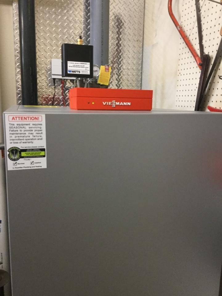Lloydminster, SK - Vitocrossal boiler service.