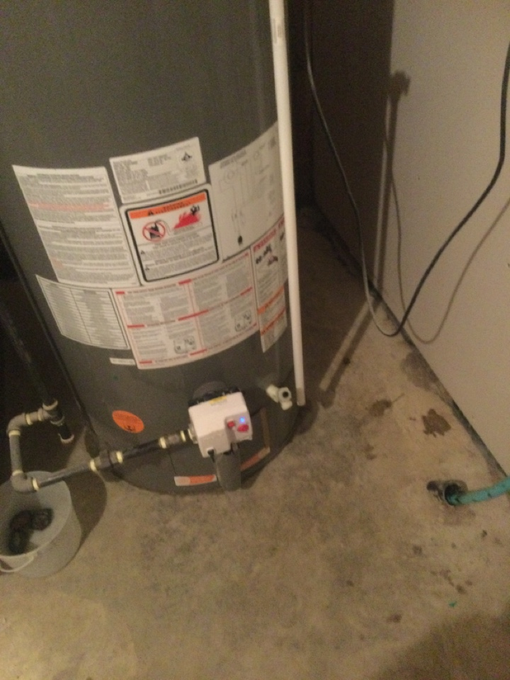 Lloydminster, AB - A slow leak on your hot water tank drain can result in big water bills. Make sure it's not leaking !