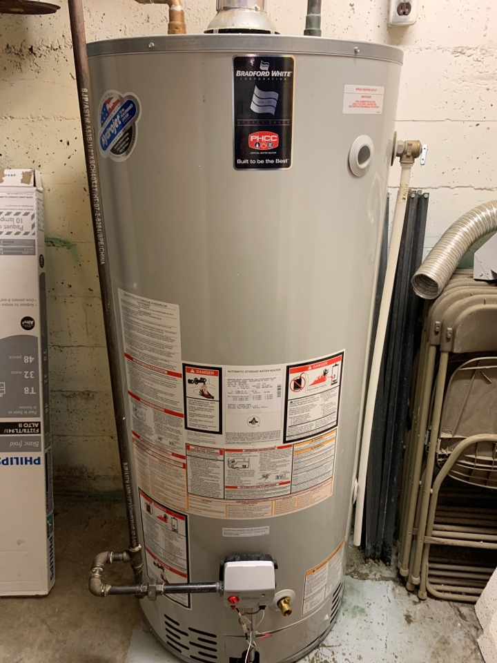 Lloydminster, SK - Changed out this water heaters gas valve and pilot assembly. Now this track has a new lease on life.