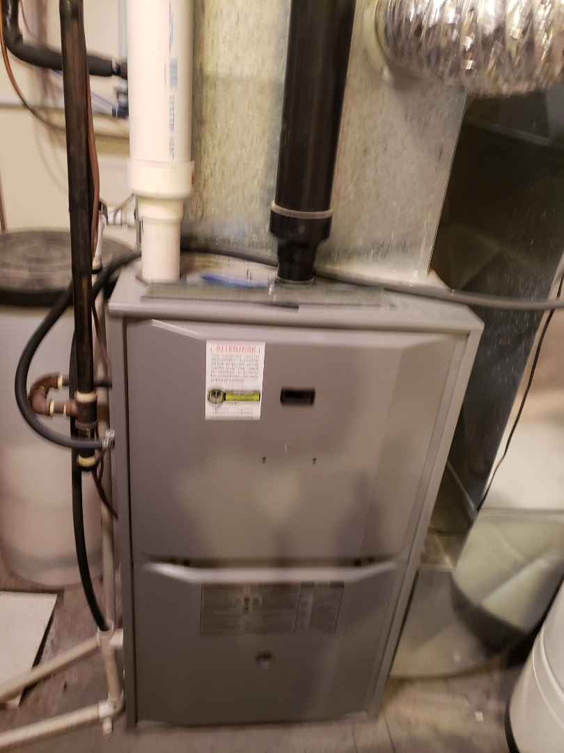 Kitscoty, AB - Just completed a system rejuvenation on this Heil furnace.