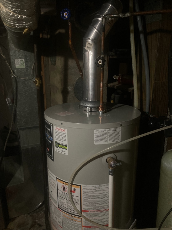 Lashburn, SK - Installed water heater and service Lennox furnace for Guardian Protection Plan Membership sign up.