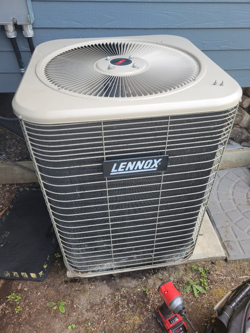 Lloydminster, SK - Just replaced a dual capacitor to get the ac cooling again for a great new customer.
