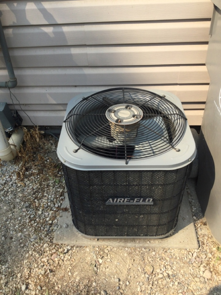 Lashburn, SK - No Ac ? No problem !!! Was able to get another homeowner back in the cool zone today.