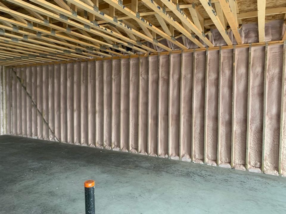 Lloydminster, AB - Sprayfoam's basement walls and rim joist big house in college drive