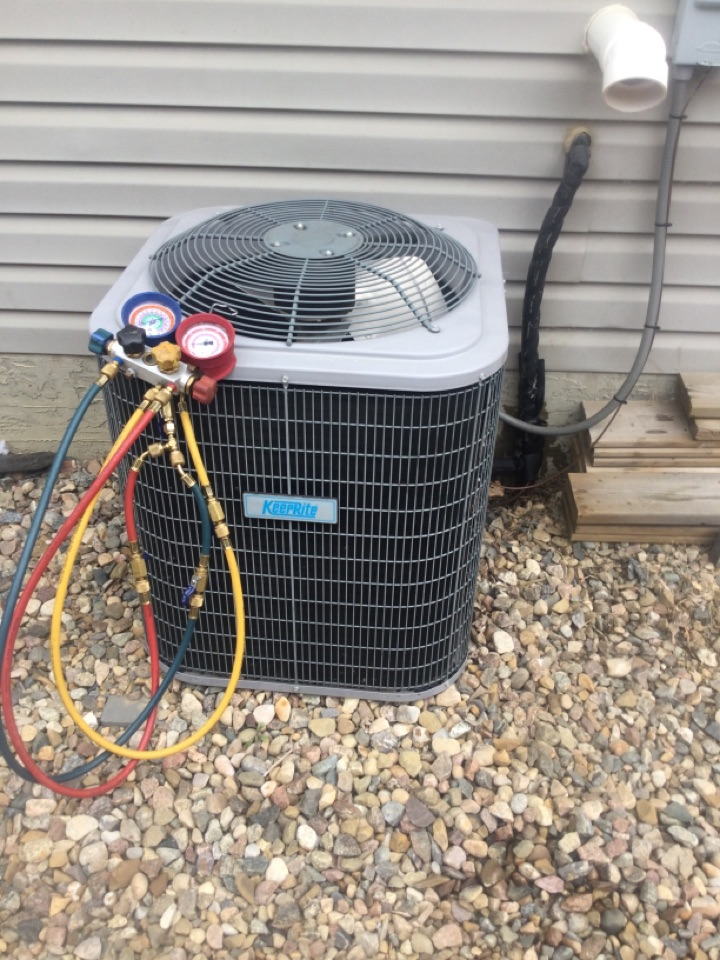 Lloydminster, AB - Recharged this family's AC just in time for some hit days ahead