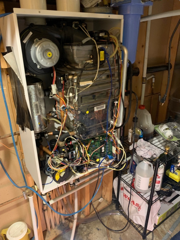Lloydminster, AB - A quick diagnosis on the tankless water heater and our problem was solved.