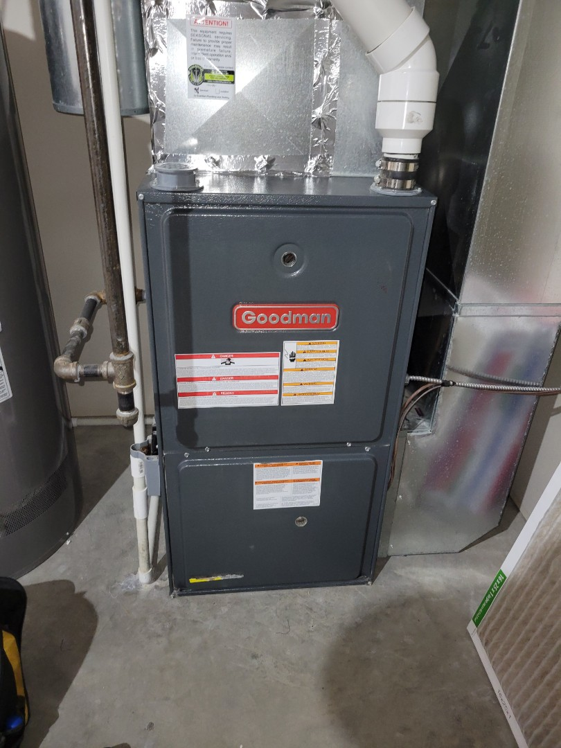 Kitscoty, AB - Just serviced and cleaned up this furnace.