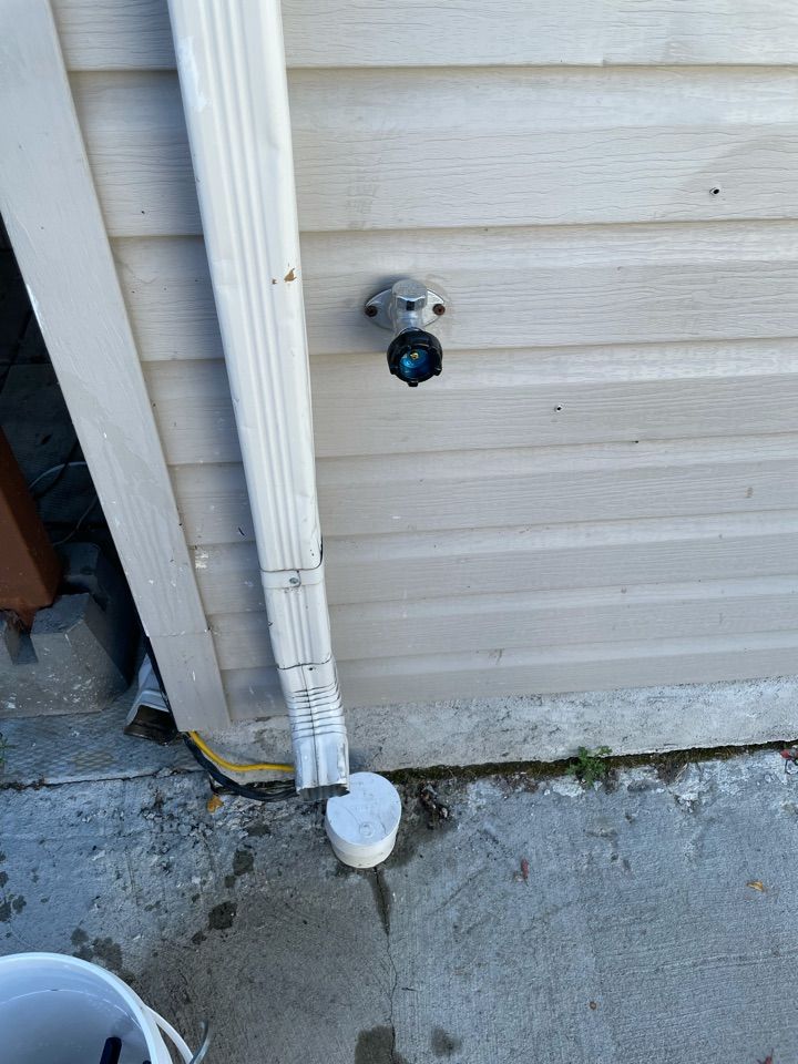 Lloydminster, AB - Yearly rejuvenation and we replaced a broken frost free outdoor faucet just in time for the cold months ahead.