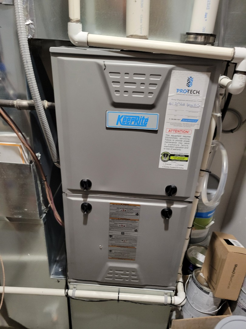 Lloydminster, AB - Just completed a rejuvenation on the furnace, and a plumbing evaluation on the home.