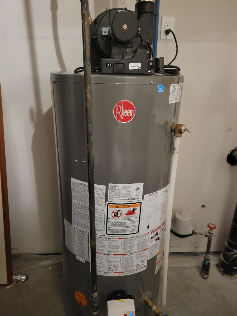 Lloydminster, AB - Juat tuned up the furnace and replace the anode rod in the water heater.