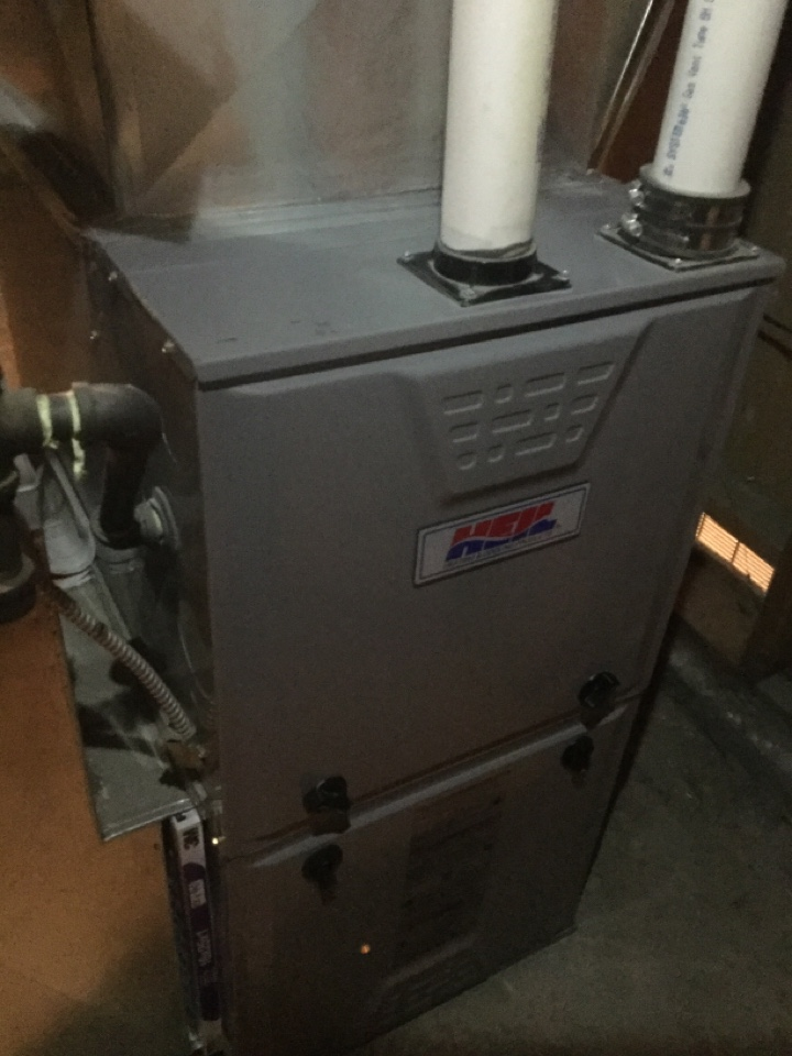 , AB - Chang sink cartridge and service furnace