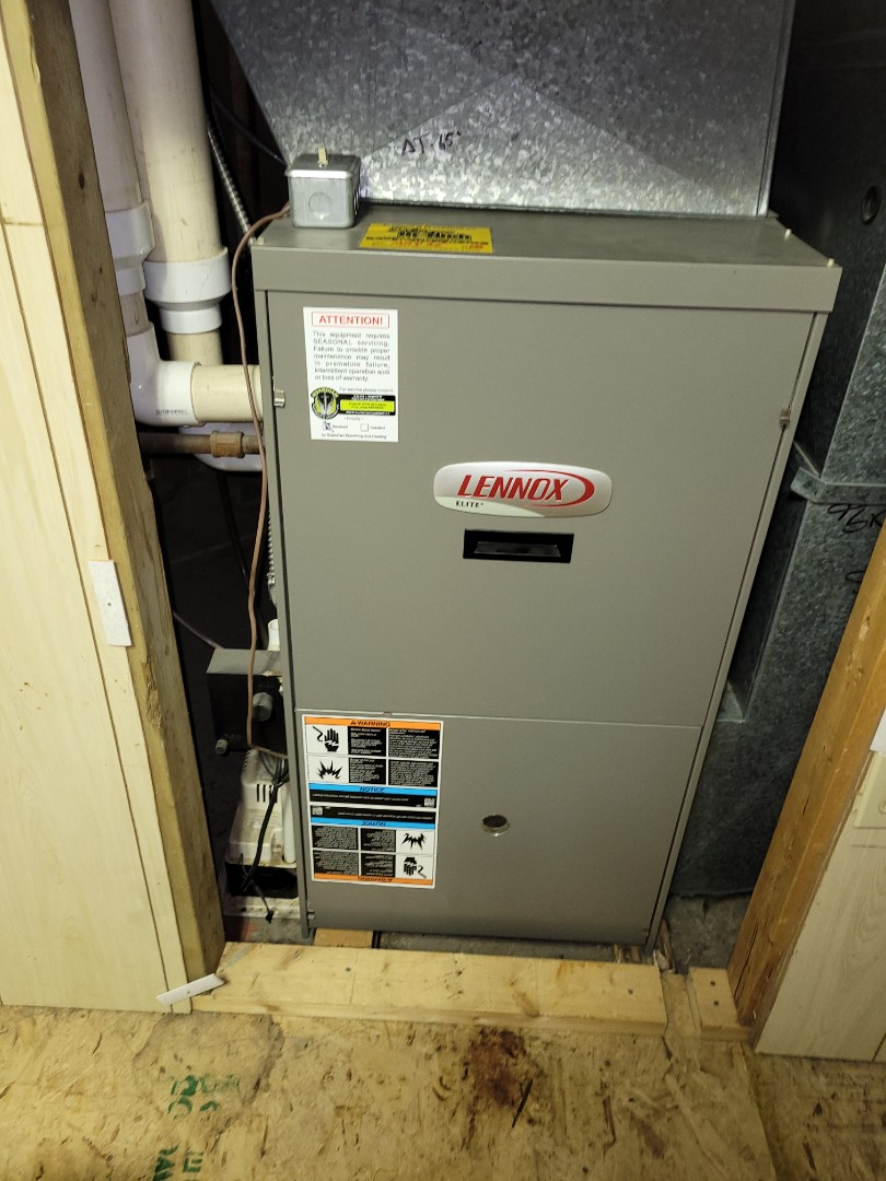 ,  - Just replaced an inducer motor on this Lennox furnace.