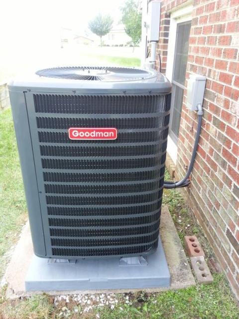 Clinton, MD - Nice home services will install the following equipment GSZ14 heat pump New equipment pad New electrical disconnect for heat pump New electrical whip for heat pump Gravel bed for heat pump Equipment pop up legs for heat pump Five years parts warranty One year labor warranty