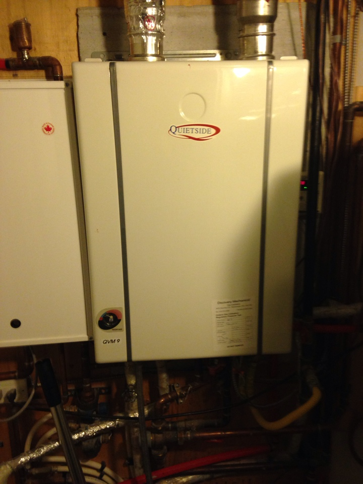 Blue Mountains, ON - Tankless water heater sales, service and installation collingwood