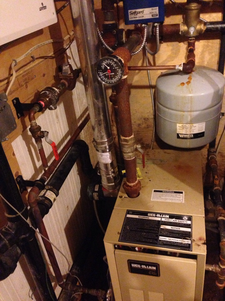 Blue Mountains, ON - Replaced pressure releasing valve on a boiler system